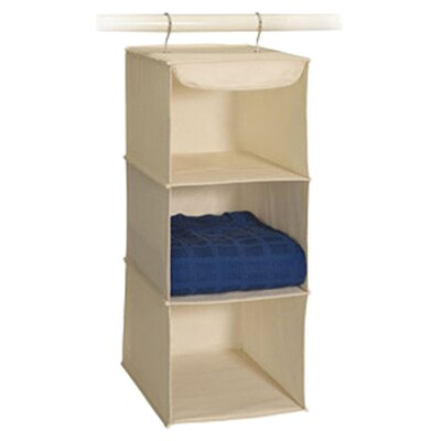 Canvas 3 Shelf Sweater Organizer