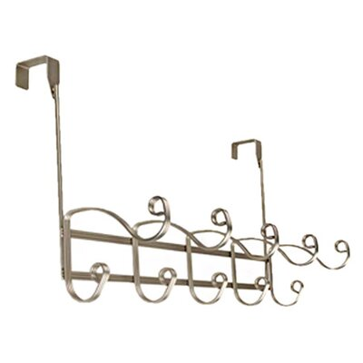 <strong>Richards Homewares</strong> Verona Over the Door 5 Hook Rack