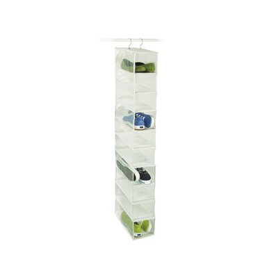 Richards Homewares Closet Accessories Peva 10 Compartment Shoe Organizer