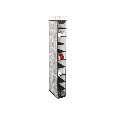 Skyline Closet Storage 10 Shelf Shoe Organizer