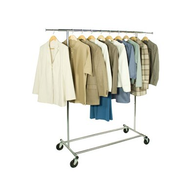 Richards Homewares Free Standing Storage Commercial Garment Rack