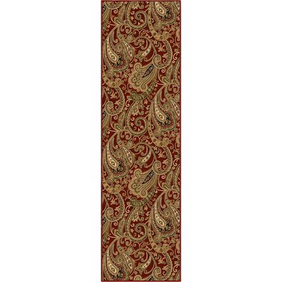 Orian Rugs Inc. American Heirloom Kashmir Claret Rug