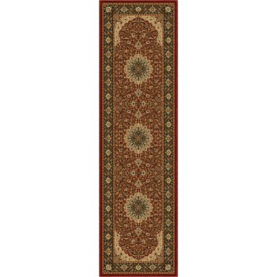 Orian Rugs Inc. American Heirloom Osteen Claret Rug