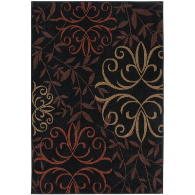 Orian Rugs Inc. Four Seasons Josselin Black Rug