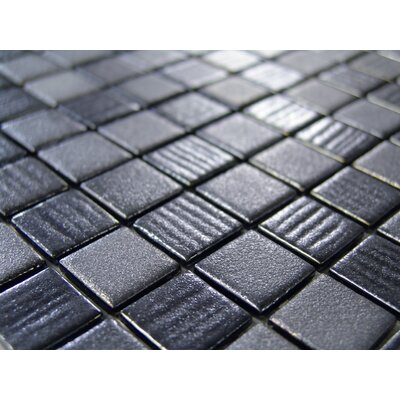 "Onix USA Edge Glass 13"" x 13"" Mosaic in Urban"