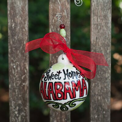 Glory Haus Sweet Home Alabama Ball Ornament