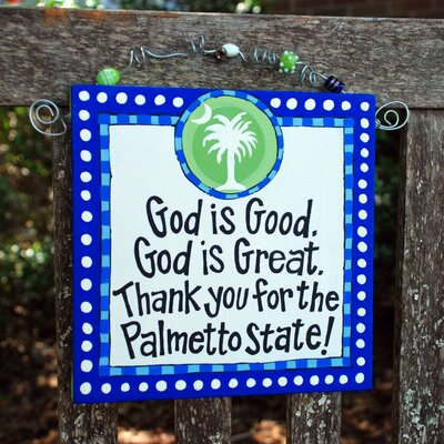 Glory Haus Palmetto State Beaded Canvas Art