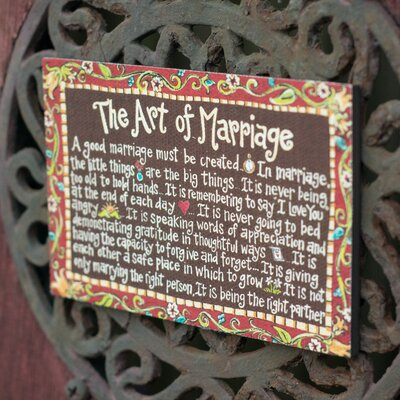 Glory Haus Art of Marriage Magnet
