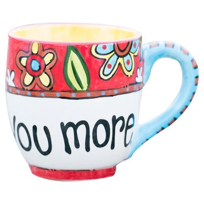 Glory Haus I Love You More 16 oz. Jumbo Mug