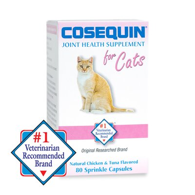 Cosequin Capsules  for Cat (80 Count)
