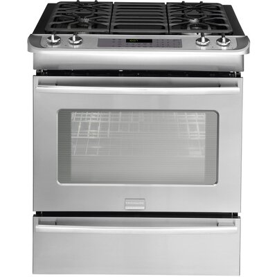 Professional Series Gas Slide-In Range with True Convection
