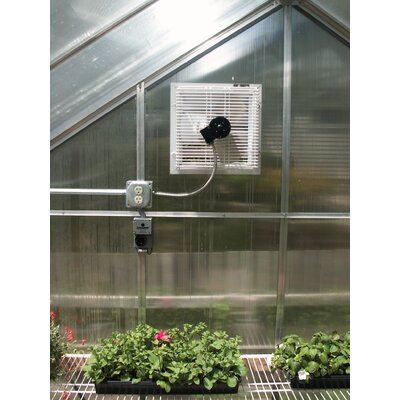 Juliana Greenhouses Greenhouse Motorized Shutter Fan