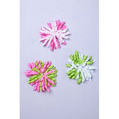 Heart to Heart Ball Hair Clip (Set of 3)