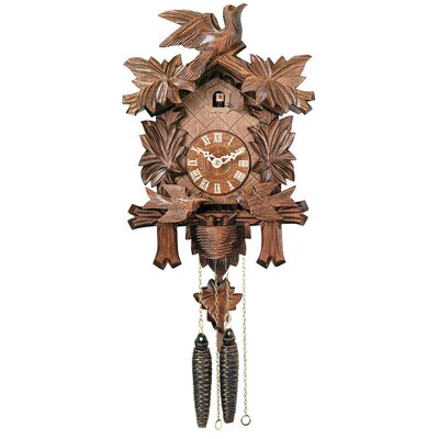 Cuckoo Clock with Moving Birds, Feed Nest