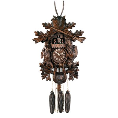 Eight Day Musical Hunter's Cuckoo Wall Clock