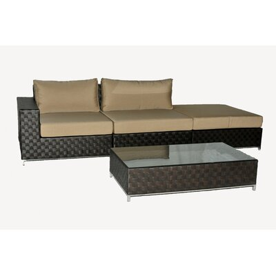 BOGA Furniture Vancouver 4 Piece Sectional Set