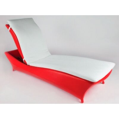 BOGA Furniture Moon Light Chaise Lounge with Cushion