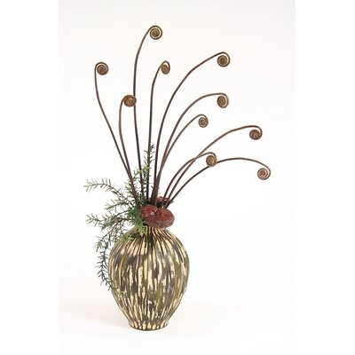 Distinctive Designs Silk Arrangement in Vase