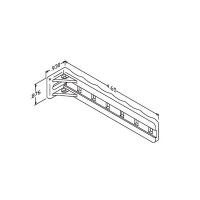 Chatsworth Cable Support Brackets