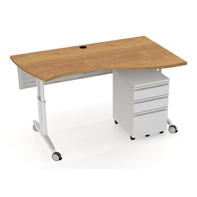 Markant USA, Inc. MyOffice Vinton Wave Teacher Desk