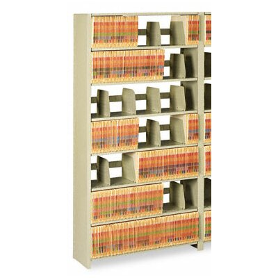 Tennsco Corp. Tennsco Snap-Together 6-Shelf Closed Add-On Open Filing Unit
