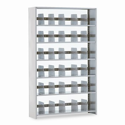 "Tennsco Corp. Snap-Together Open Shelving Steel 6-Shelf Closed Starter Set, 48"" Wide"