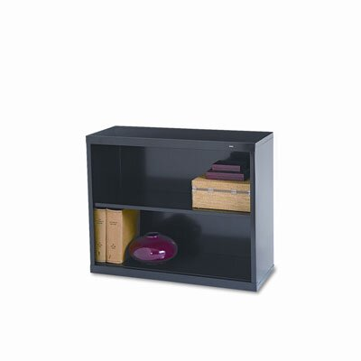 Tennsco Corp. Metal Bookcase, 2 Shelves, 34-1/2W X 13-1/2D X 28H