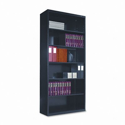 Tennsco Corp. Metal Bookcase, 6 Shelves, 34-1/2W X 13-1/2D X 78H