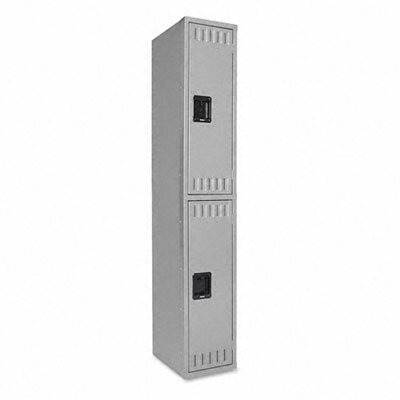 Tennsco Corp. Double Tier Locker, 12W X 18D X 72H