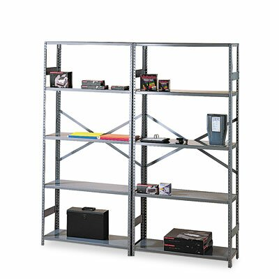 Tennsco Corp. Commercial Steel Shelving, 6 Shelves, 36W X 18D X 75H