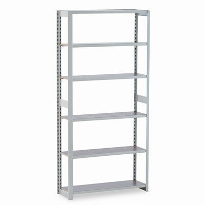 "Tennsco Corp. Regal 80"" H 6 Shelf Shelving Unit Starter"