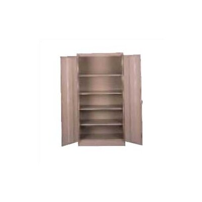"Tennsco Corp. Assembled 18"" Deep Storage Cabinet"