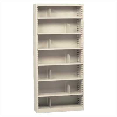"Tennsco Corp. KD 84"" H Seven Deep Shelf Bookcase"