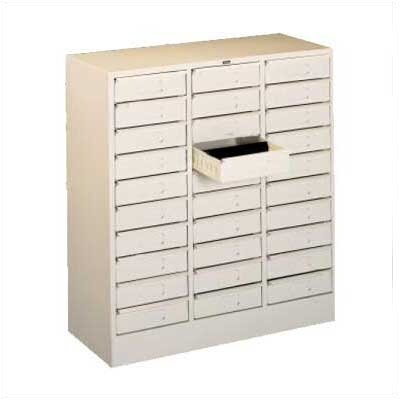 Tennsco Corp. 30 Drawer Organizer, Legal Size