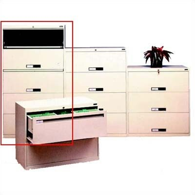 Tennsco Corp. Lateral File With 5 Drawers Combination Unit