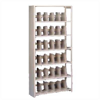 Tennsco Corp. Imperial Filing 6 Shelf Shelving Unit Starter