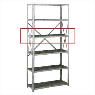 Tennsco Corp. Extra Shelf for Q Line Box-Formed Shelving