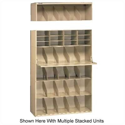 Tennsco Corp. Letter Size Stackable Filing System, (Starter)