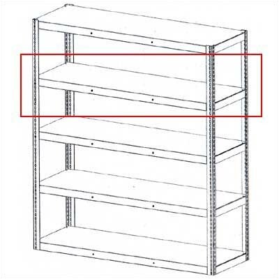 Tennsco Corp. Die Rack Unit Extra Shelf Levels