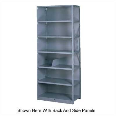 Tennsco Corp. Q Line Open Shelving, 5 Shelves (Adder)