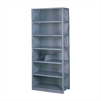 Tennsco Corp. Q Line Closed Shelving, 8 Shelves (Adder)