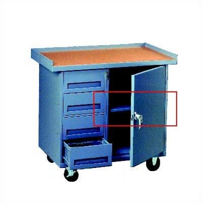 Tennsco Corp. Extra Shelf for Mobile Workbench