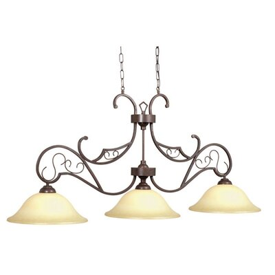 Venetian 3 Light Billiards Light