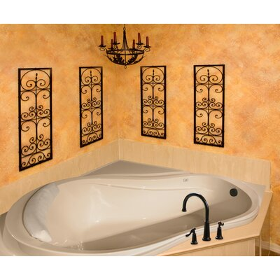 "Hydro Systems Designer Eclipse 64"" x 64"" Bathtub"