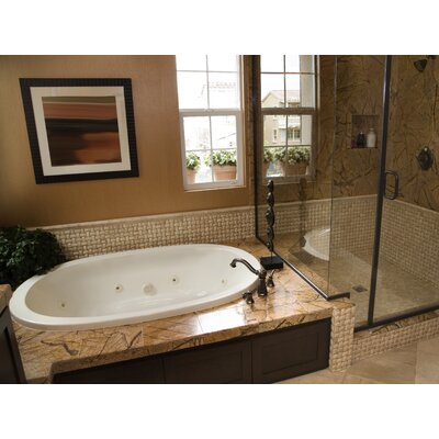 Hydro Systems Designer Galaxie 66&quot; W X 38&quot; D Bath Tub with Combo System