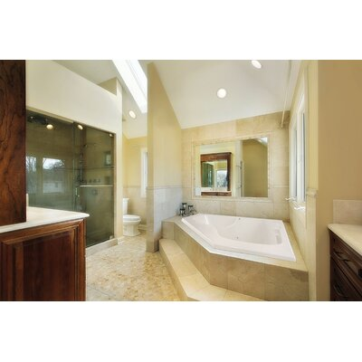 "Hydro Systems Designer Lara 60"" W X 60"" D Bath Tub with Combo System"
