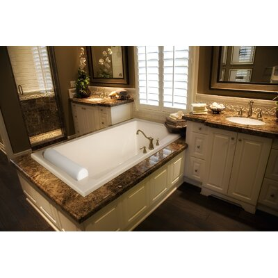 "Hydro Systems Designer Regal 70"" W X 34"" D Air Bath Tub with Thermal System"