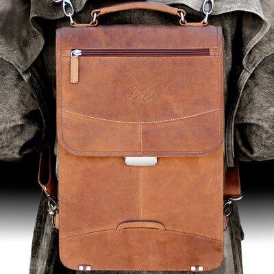 MacCase Premium Leather Flight Case Briefcase