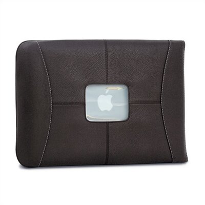 "MacCase 13"" Premium Leather MacBook Sleeve in Chocolate"