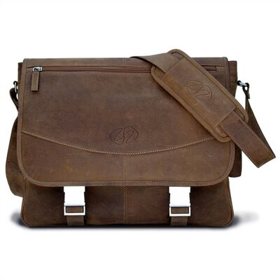 MacCase Premium Leather Shoulder Bag